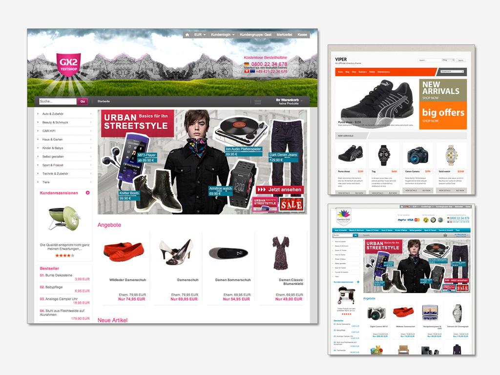 ihr eigener online shop inkl design einrichtung ab 359 projekt und grafikwerkstatt. Black Bedroom Furniture Sets. Home Design Ideas
