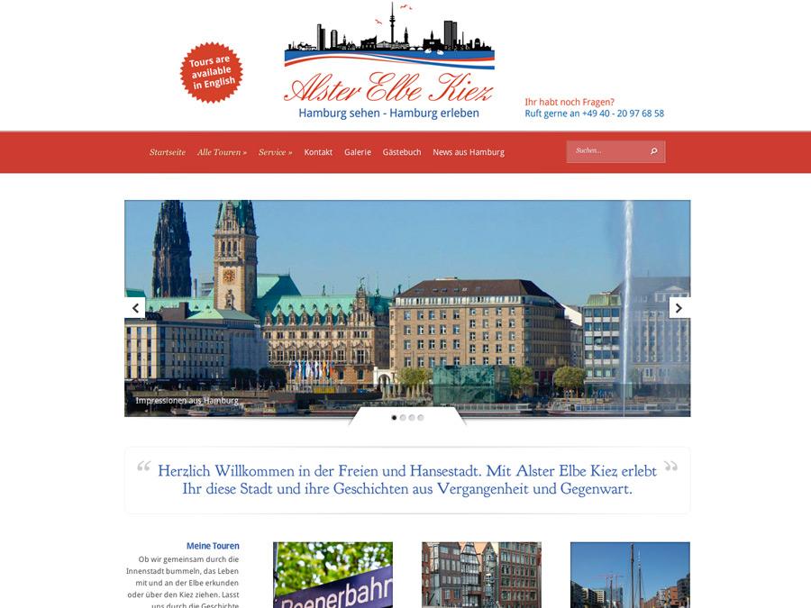 Mit Alster Elbe Kiez Hamburg sehen und erleben