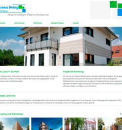Eine Webseite für nachhaltige Wohnträume