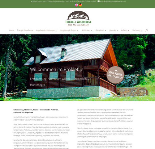 Entspannung, Abenteuer & Wildnis… Triangle Woodhouse