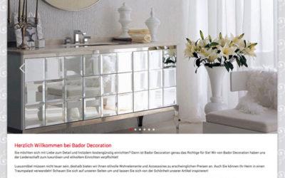 Bador Decoration verpflichtet sich der Leidenschaft zum luxuriösen und stilvollem…