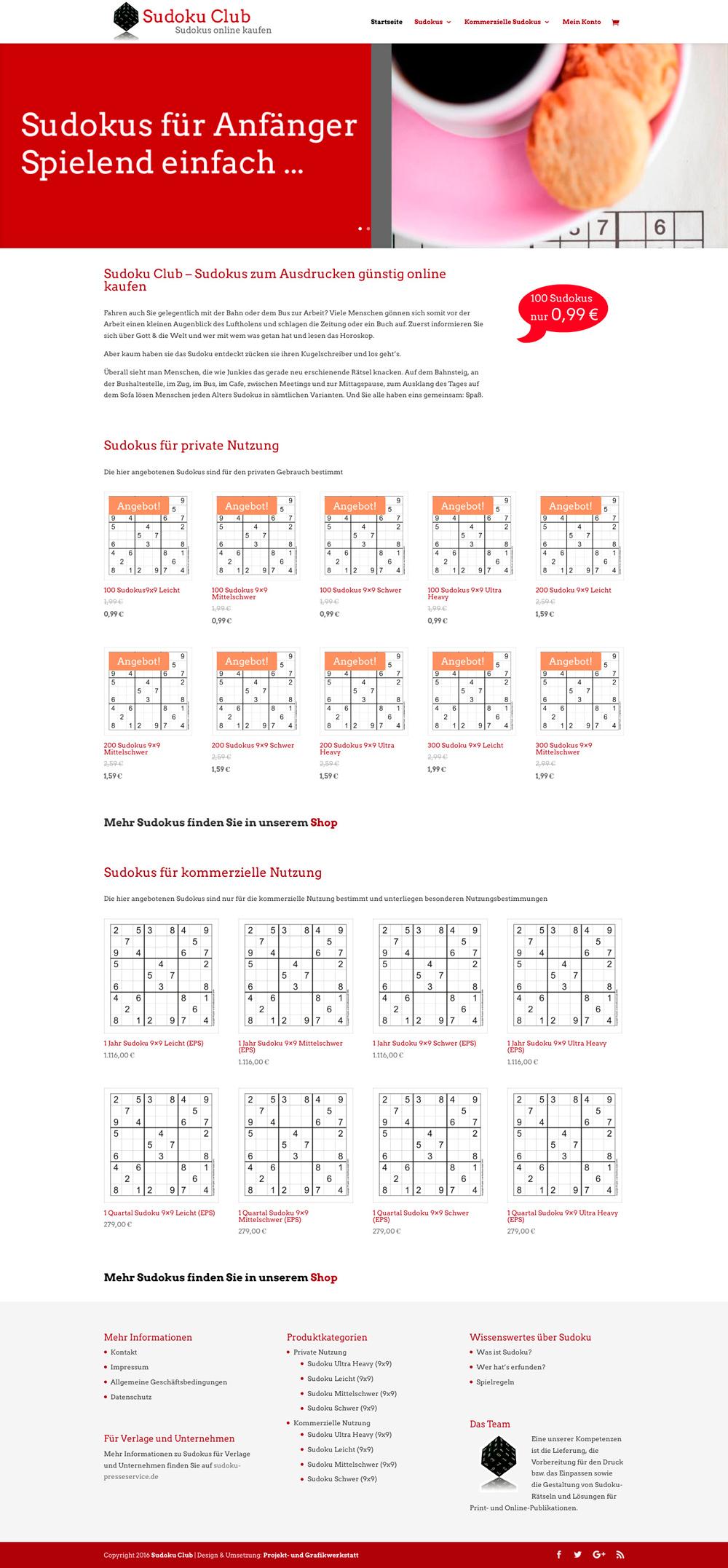 PUG eröffnet Sudoku Club | Projekt- und Grafikwerkstatt