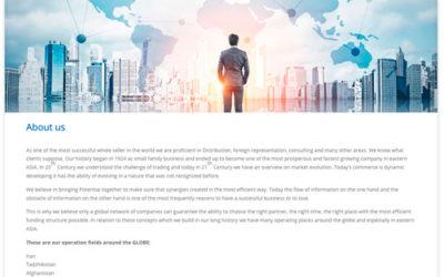 Im- und Exporte mit Whiteschild – PuG übernimmt Corporate Design und mehr