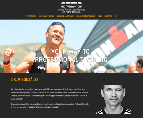 Dr. Gonzáles – Profisportler, Athletiktrainer und Leistungsdiagnostiker